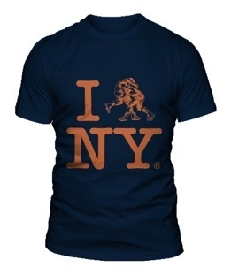 I [Wrestle] NY Shirt